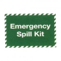 Emergency Spill Kit Station Sign