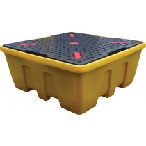 Single IBC Poly Sump Pallet - Stackable