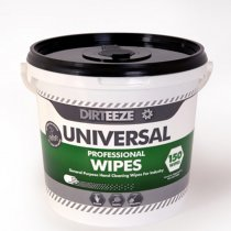 Dirteeze Universal Bucket Wipes | Pk 4