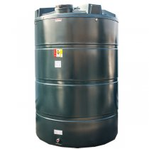 9,400 Litre Plastic Oil Storage Tanks (Vertical)