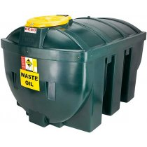 1,235 Plastic Bunded Waste Oil Tank (Horizontal)
