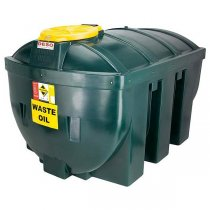 1,800 Plastic Bunded Waste Oil Tank (Horizontal)