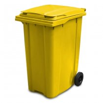 360 Litre Yellow Wheelie Bin - main
