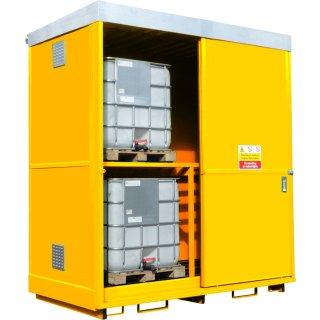 4 x IBC Dual Purpose Storage Unit