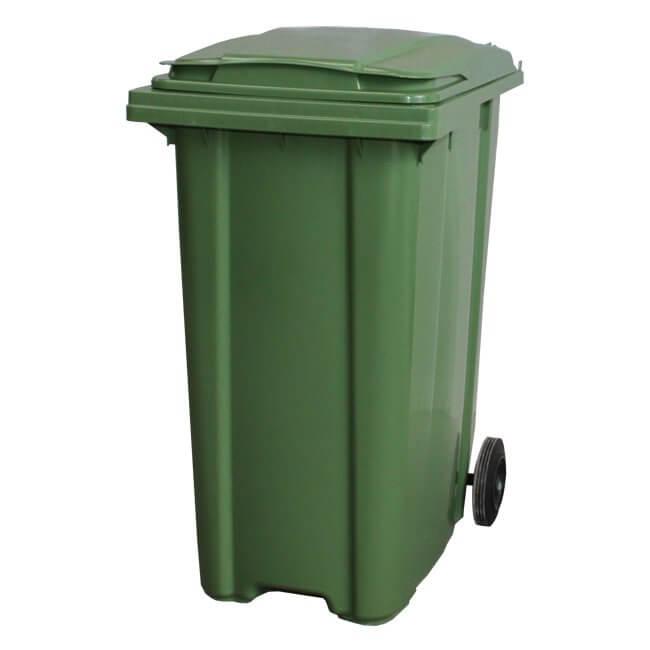 360 Litre Green Wheelie Bin