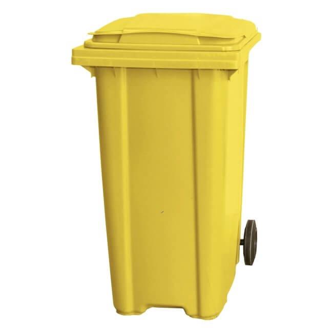 360 Litre Wheelie Bin - Yellow