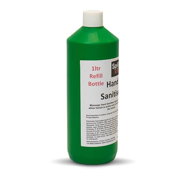 Hand Sanitiser Spray 1L Refill Bottle