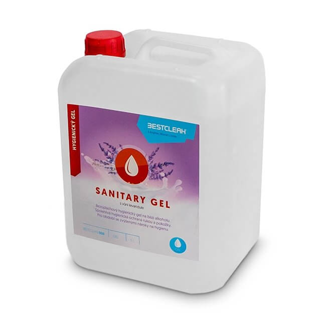 Hand Sanitiser Gel 5L Refill