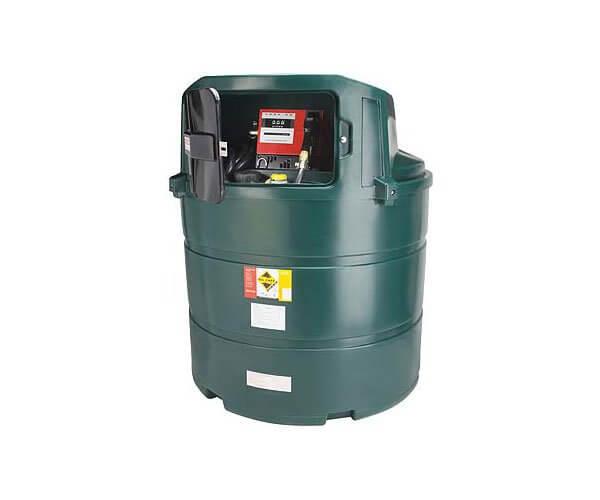 1,340 Litre Plastic Bunded Fuel Tanks (Vertical)