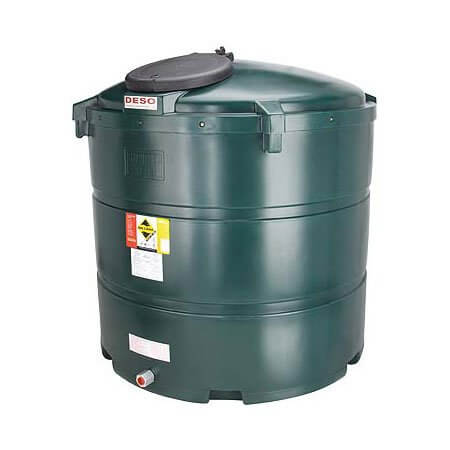 1,340 Litre Plastic Oil Storage Tanks (Vertical)