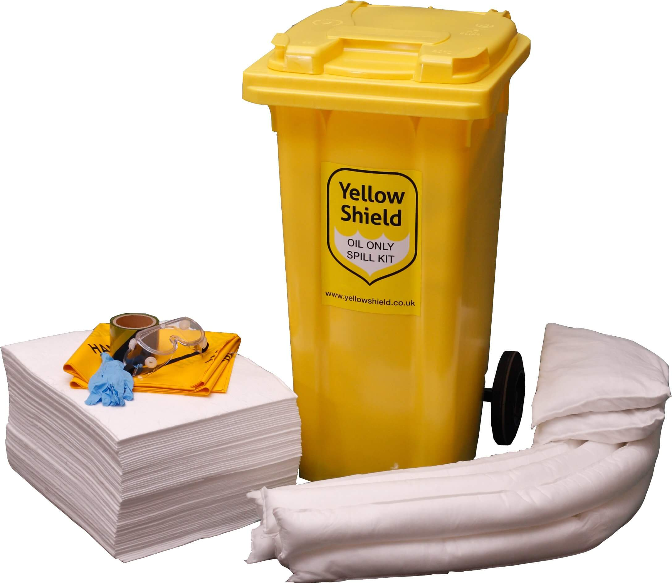 Oil Wheelie Bin Spill Kit