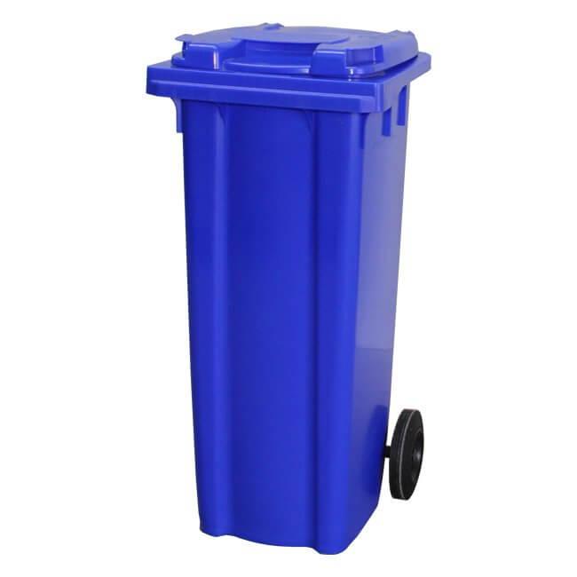 140 Litre Blue Wheelie Bin