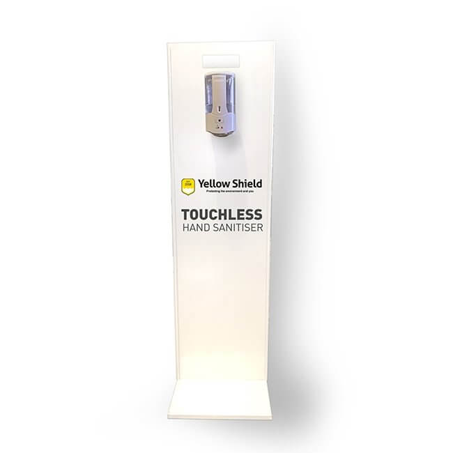Hand Sanitiser Station | Touchless - Stand Mounted