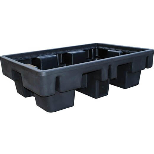 230 L spill tray with pallet
