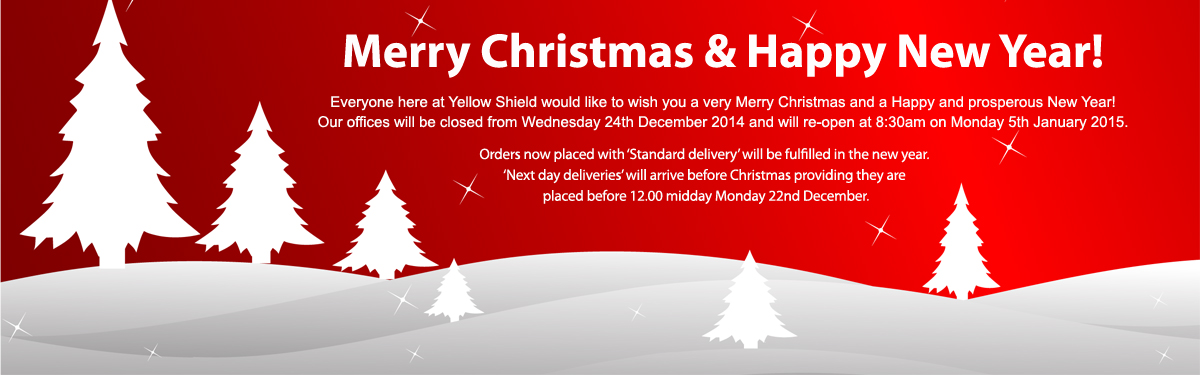 Merry Christmas from Yellow Shield!