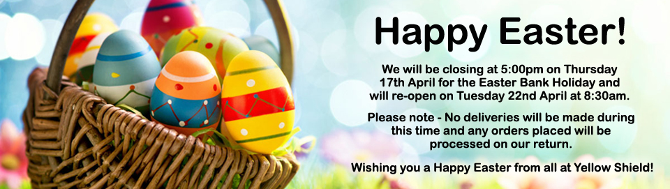 Happy Easter from Yellow Shield!