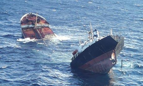 Prestige Oil Tanker