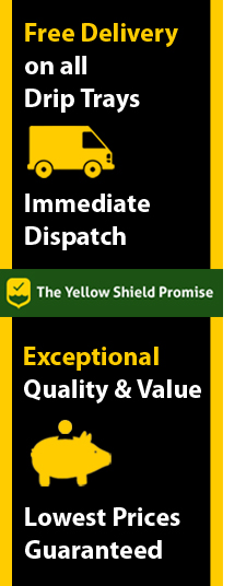 The Yellow Shield Promise - Spill Trays