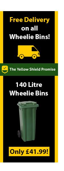 140 Litre Wheelie Bins