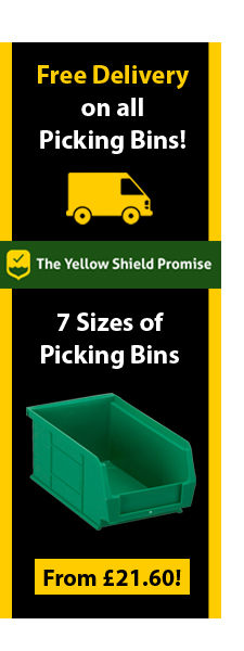 Picking Bins from Yellow Shield