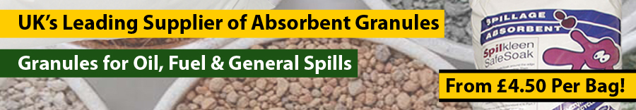Absorbent Granules from Yellow Shield