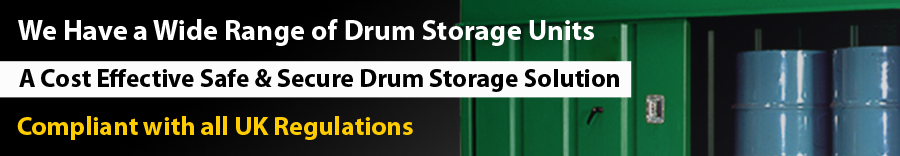 Bunded Drum Storage by Yellow Shield