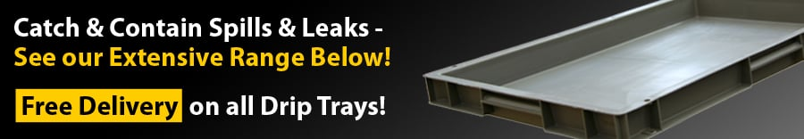 Drip Trays from Yellow Shield