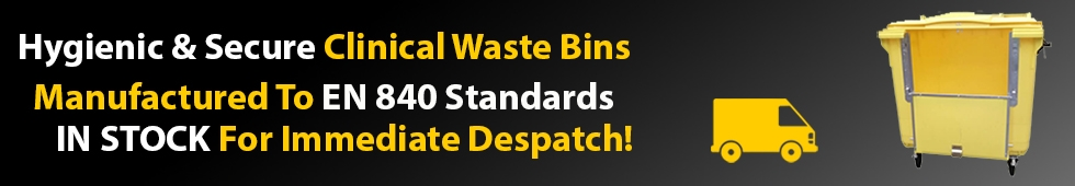 Clinical Waste Bin Banner